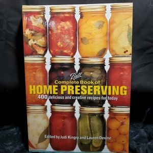 Ball complete book on home preserving